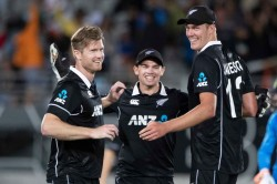 New Zealand Cricket Team In Pakistan For First Tour In 18 Years