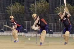 Ipl 2021 Ab De Villiers Starts Net Practice For The 2nd Leg Of The Tournament