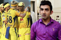 Ipl Not Ravindra Jadeja Or Suresh Raina Ambati Rayudu Is The Best Player Of Csk Says Gautam Gambhir