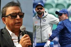 T20 World Cup 2021 Ms Dhoni Can T Do Much Virat Kohli Should Take Responsibility Says Sunil Gavaskar