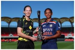 India Women Vs Australia Women 1st T20i At Carrara Oval Toss Reports And Playing Xi