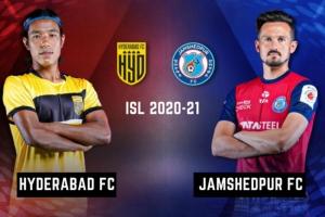 ಐಎಸ್ಎಲ್: ಹೈದರಾಬಾದ್ ಎಫ್ಸಿ vs ಜೆಮ್ಶೆಡ್ಪುರ ಎಫ್ಸಿ, Live ಸ್ಕೋರ್