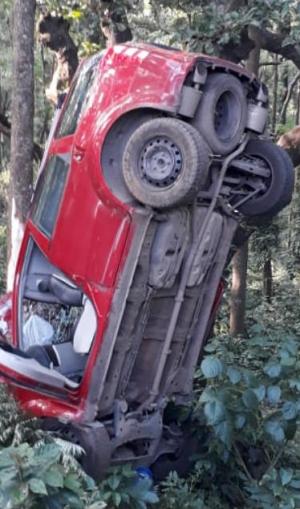 ಕಾಫಿ ಡೇ Rally : ಮೊದಲ ದಿನವೇ ಒಂದು ಕಾರು ಪಲ್ಟಿ, ಗಿಲ್ ಗೆ ಮುನ್ನಡೆ